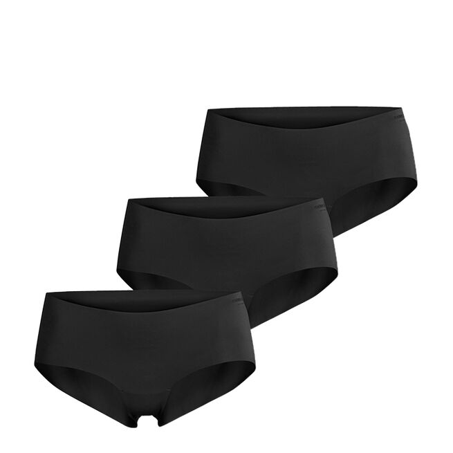 3-Pack Hattie Solid Hipster, Black Beauty, 34