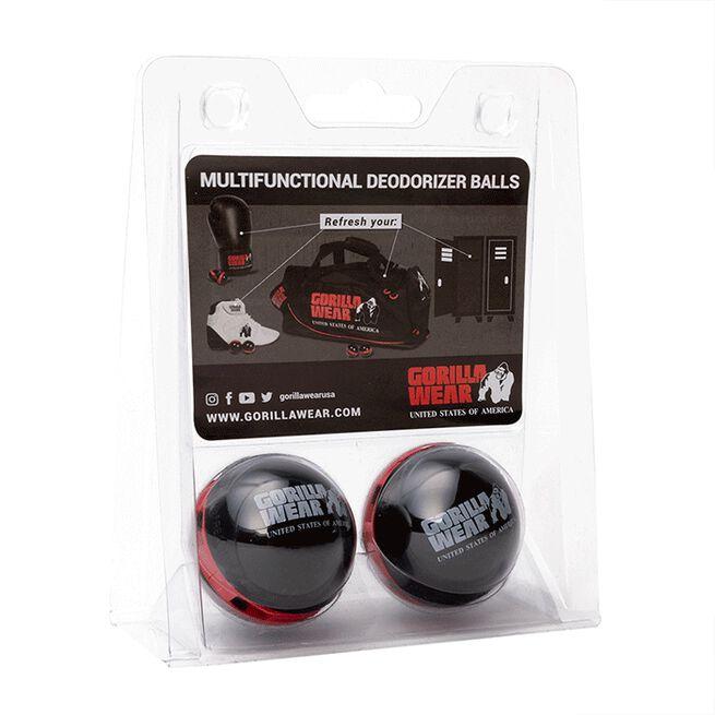Multifunctional Deodorizer Balls, Black/Red