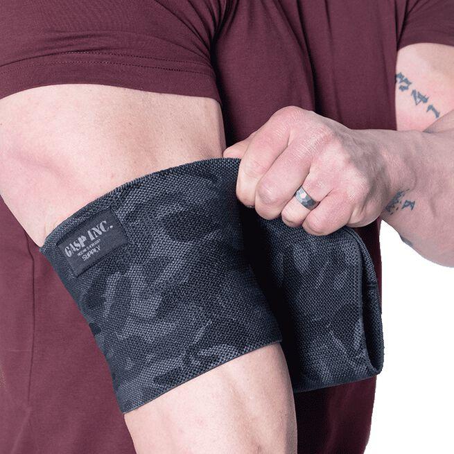 HD Gasp Elbow sleeve, 10,5 inch, Dark Camo