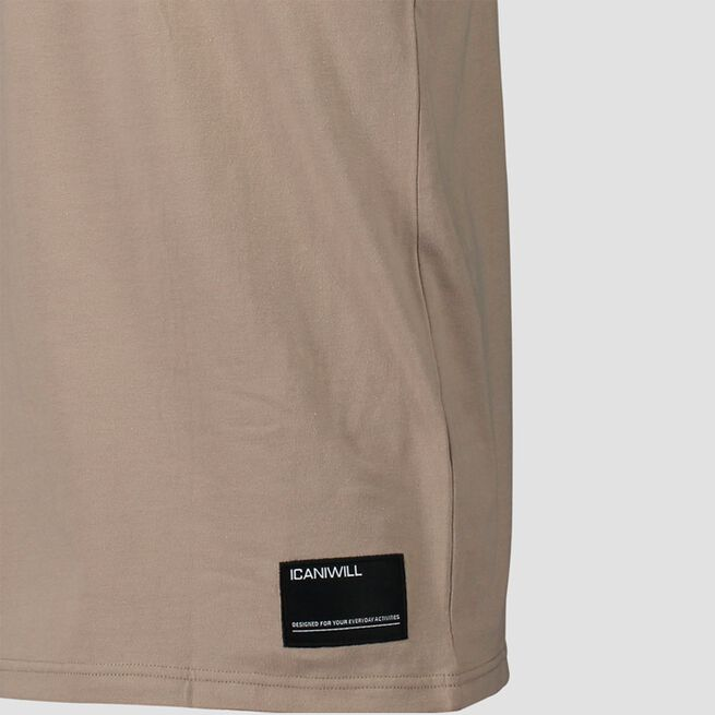 ICANIWILL Essential T-shirt Sand