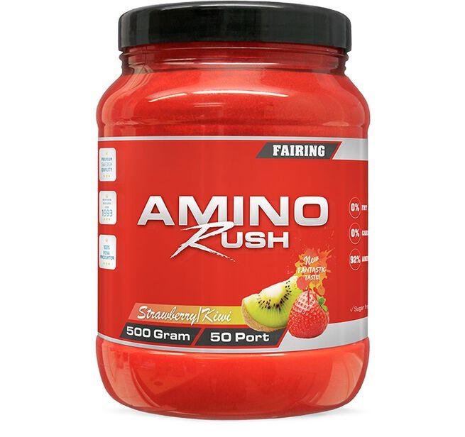 Amino Rush, 500 g, Strawberry/Kiwi