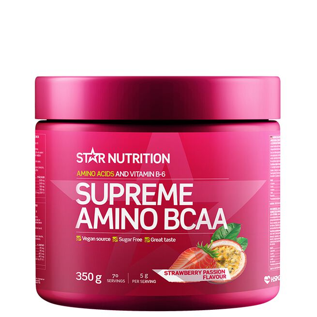 Star nutrition Supreme Amino BCAA 350g Strawberry passion