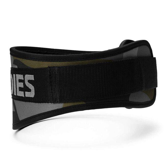 Camo Gym Belt, Dark Green Camo, XS