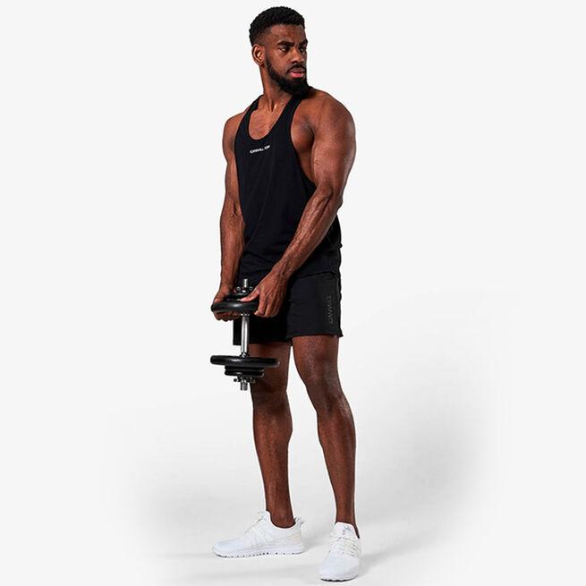 Training Muscle Tank Top, Black, L