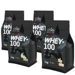 Star nutrition whey-100 protein pulver