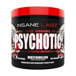 Psychotic Pre-Workout, 35  servings, Watermelon