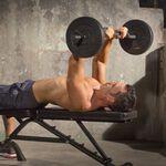 Iron Gym 23kg Adjustable Curl Bar Set
