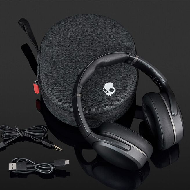 SKULLCANDY Hörlur Hesh 3, ANC Over-Ear WL, Black