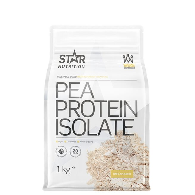 Star nutrition pea protein isolate unflavoured