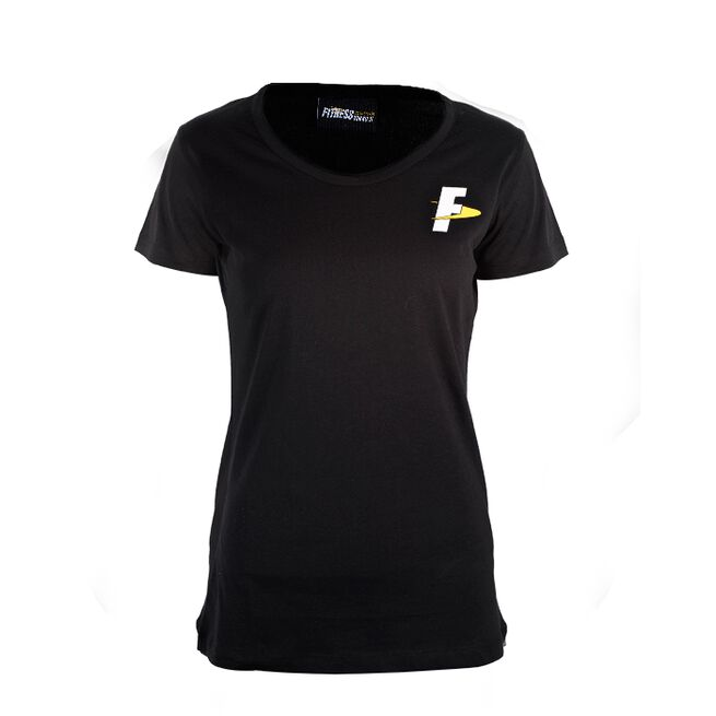 Fitnesstukku T-shirt, Black, Women, S