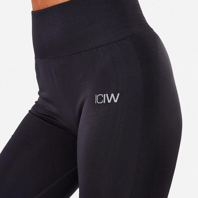 ICIW Define Seamless Tights, Graphite, S