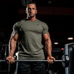 Johnson T-Shirt, Army Green, M