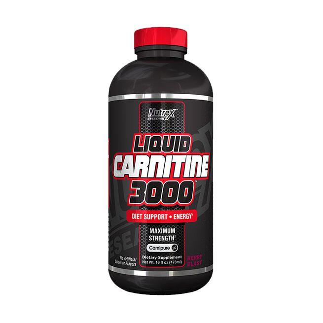 Liquid Carnitine 3000, 473 ml, Berry Blast