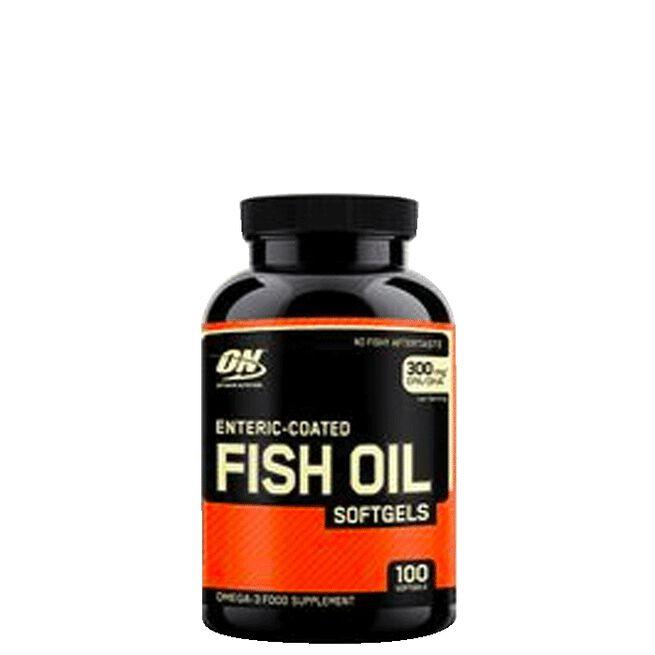 Enteric-Coated Fish Oil, 100 gels Optimum Nutrition