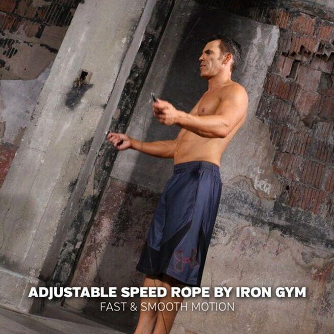 Iron Gym Adjustable Speed Rope