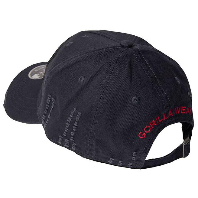 Harrison Cap, Black/Red, OS