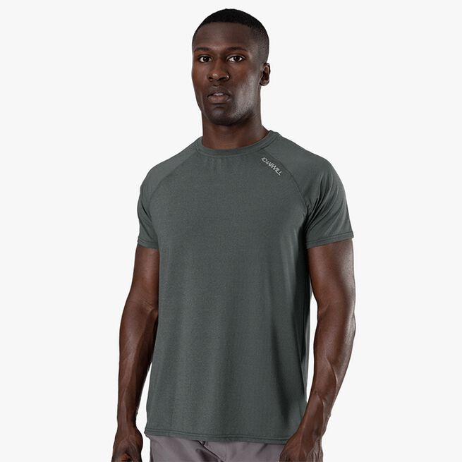 ICIW Workout Melange T-shirt, Dark Green