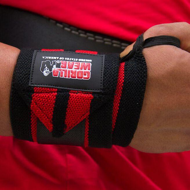 Wrist Wraps Pro, black/red