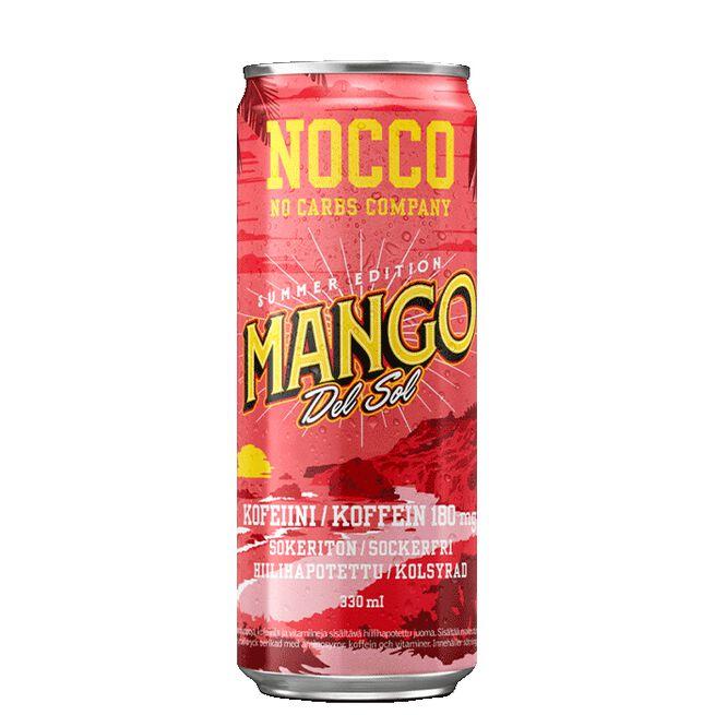 NOCCO BCAA, 330 ml, Summer edition, Mango del Sol, FI