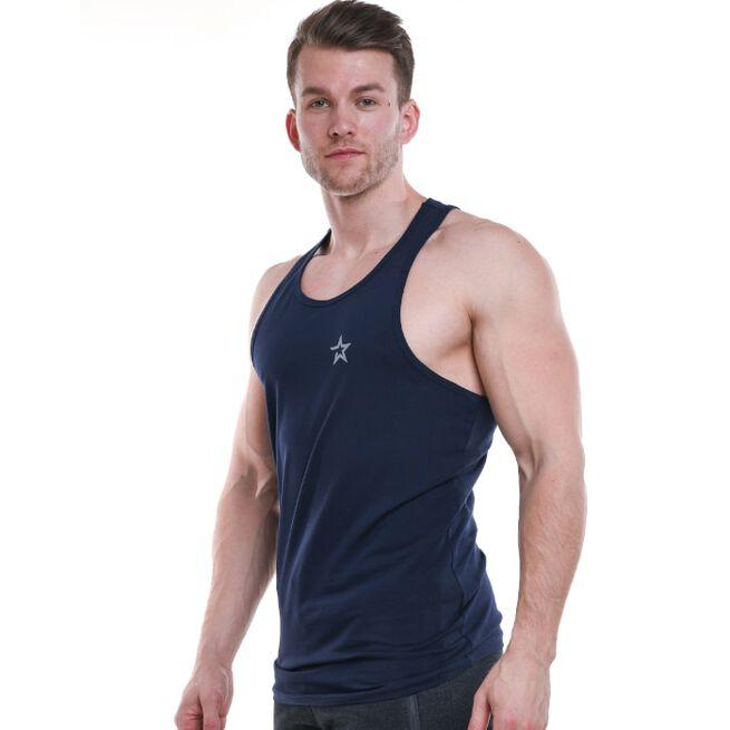 Star Nutrition Tank Top, Navy Blue, S
