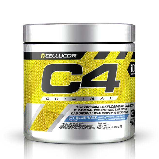 C4, 30 servings, Blue Razz