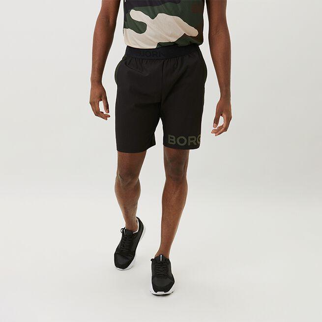 Borg Shorts, Black Beauty, L