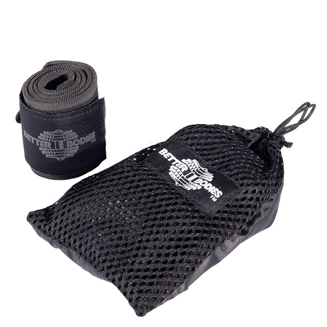 Better Bodies Heavy BB Wrist Wraps 24inch Black
