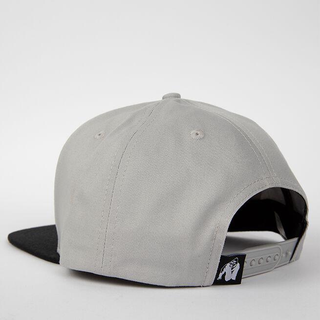 Ontario Snapback Cap, Grey/Black