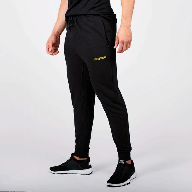 Fitnesstukku Men Sweat Pants, Black