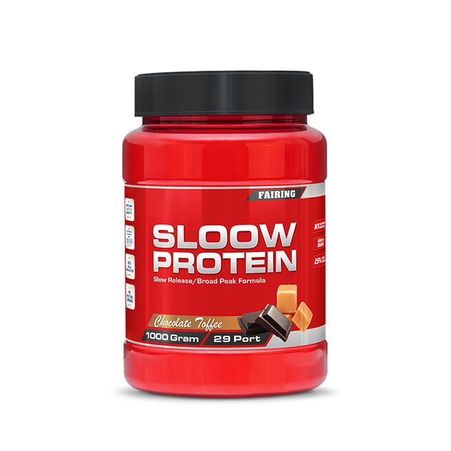 Sloow Protein, 1000 g, Chocolate/Toffee