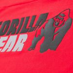 Melbourne SL Hooded T-Shirt, Red, L