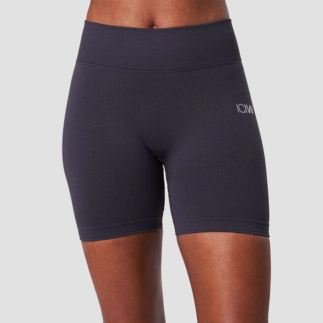 ICANIWILL Scrunch Seamless Shorts Graphite Melange