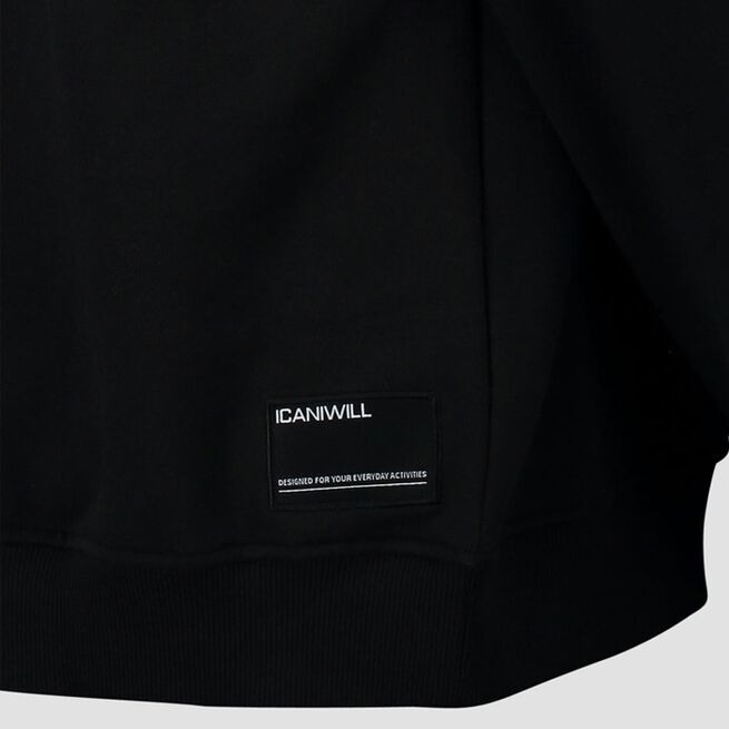 ICANIWILL Essential Hoodie Loose Fit Black