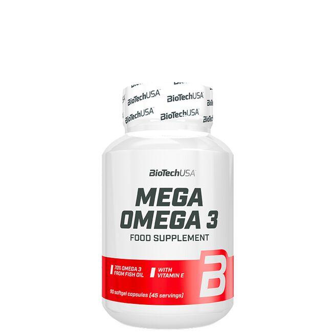 Biotech Mega Omega 3, 90 caps