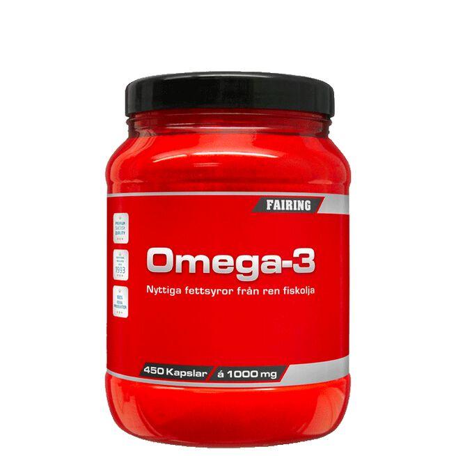 Fairing Omega-3, 450 kapslar, 1000 mg/kapsel