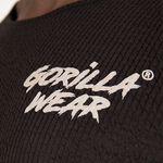 Gorilla Wear Augustine Old School Work Out Top, Black