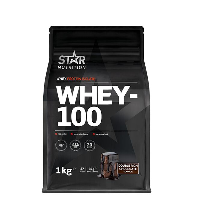 Star nutrition Whey-100  Double Rich Chocolate