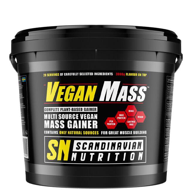 Veganmass, 3000 g, Triple Chocolate