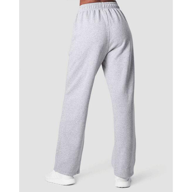 Essential Straight Sweatpant, Light Grey Melange, L