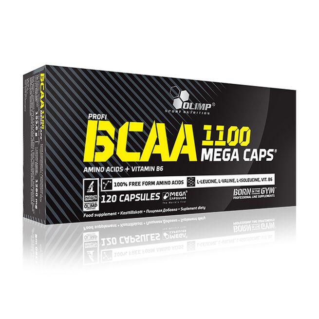 Olimp BCAA Mega Caps, 120 kapselia