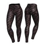 Cushy Soft Legging, Black/Pink, XS
