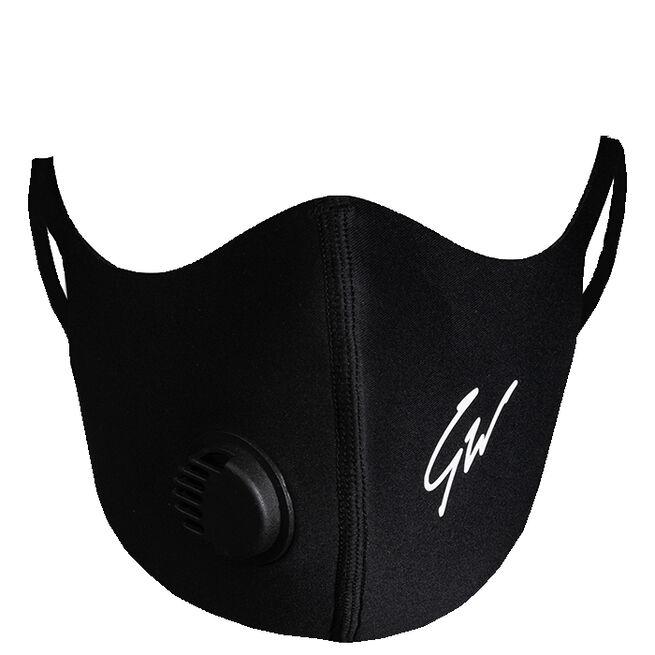Gorilla Wear Filter Face Mask, Black, XS/S