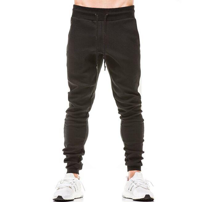 Star Gym Joggers, Black/White, S