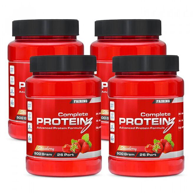 4 x Complete Protein 3, 900 g, BIG BUY