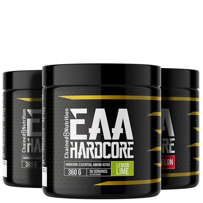 Chained nutrition EAA hardcore x 3