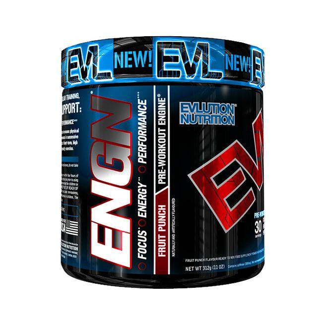 EVL Engn Pre Workout, 30 servings, Fruit Punch