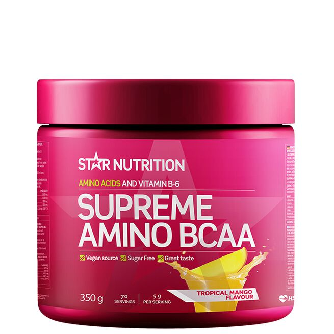 Star nutrition Supreme Amino BCAA 350g Tropical Mango