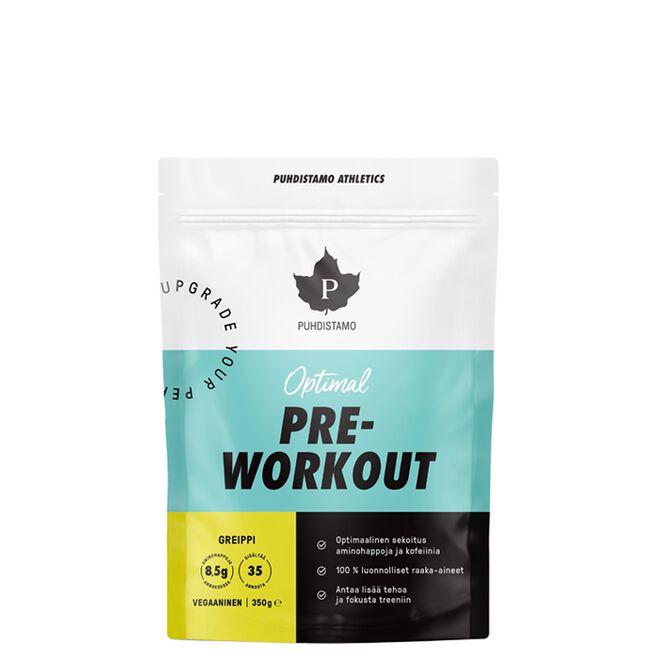 Puhdistamo Pre-Workout + Caffeine, 350g