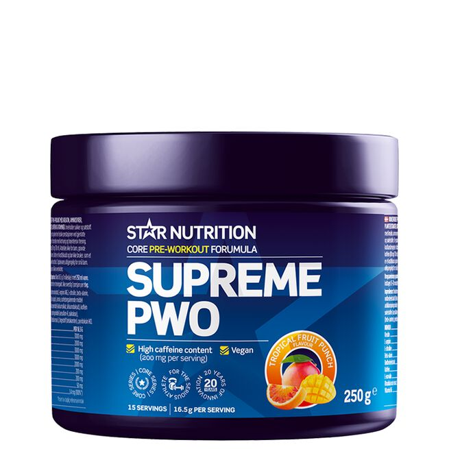 Star nutrition Supreme PWO Tropical