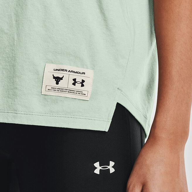 Under Armour Project Rock BSR SS Fisher Green